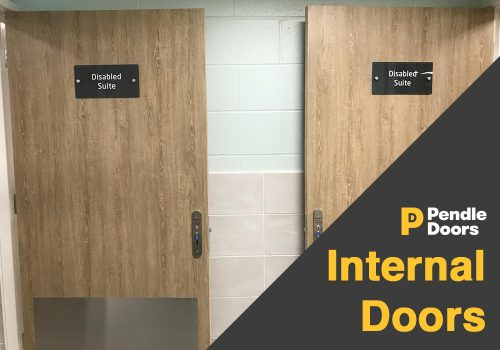 Internal doorsets, external doorsets