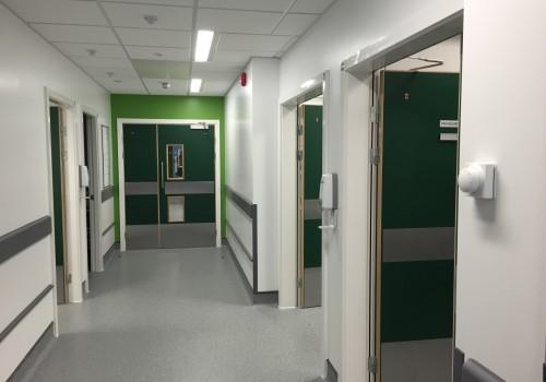 healthcare doors manchester, london, hospital doorsets manchester, london